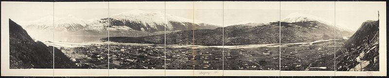 Panoramic photograph of Skagway, c. 1915