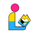 Pansexual Demiromantic Pride Library Logo 2.png
