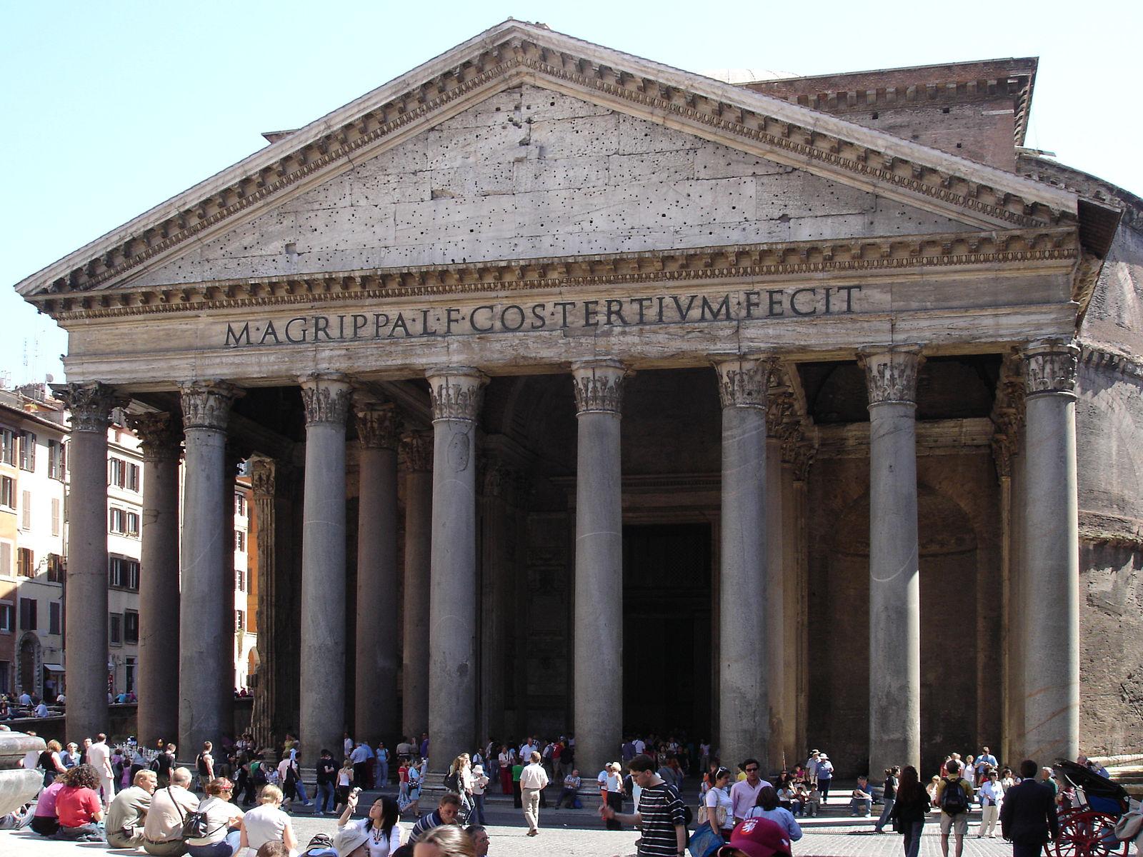 Panteón Visitar Roma en 3 días