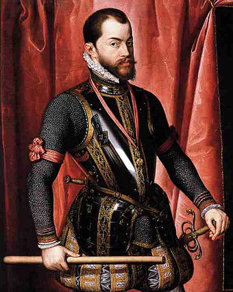 King Philip II of Spain. - Philippines