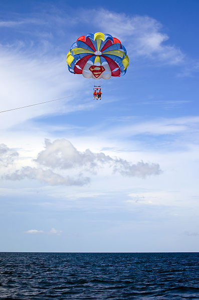 parasailing in the phillippines