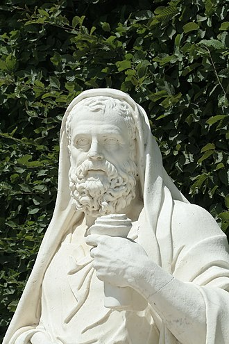 Lysias - Image: Parc de Versailles, Rond Point des Philosophes, Lysias, Jean Dedieu inv 1850n°9452 03