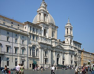 Roma, Sant'Agnese in Agone a Piazza Navona