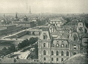 Leevi Madetoja - Paris (c. 1890s), where Madetoja studied from 1910–11; he fell in love with the city and returned many times over the course of his life.