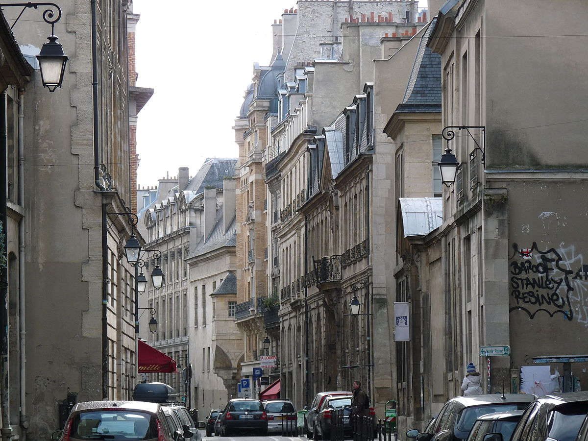 Rue Des Francs Bourgeois Wikipdia