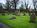 Parish Church of St Peter, Chorley, Graveyard - geograph.org.uk - 664478.jpg
