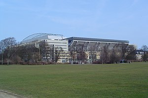 2000 UEFA Cup Final - Parken Stadium, the venue of the final