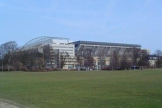 2000 UEFA Cup Final - Parken Stadium, the venue of the final