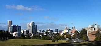 Parramatta Light Rail - The routes serve Parramatta, the largest centre in Western Sydney