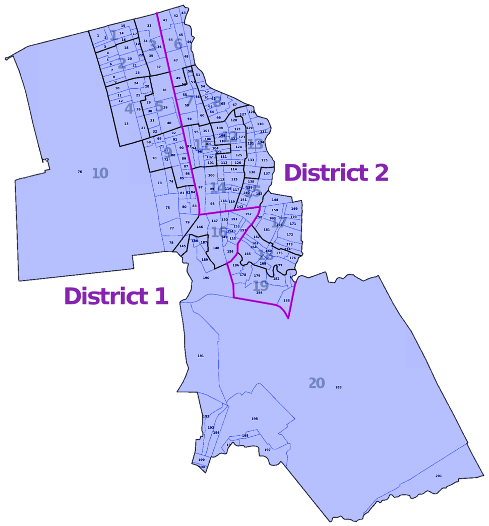 Pasay City zones and barangays