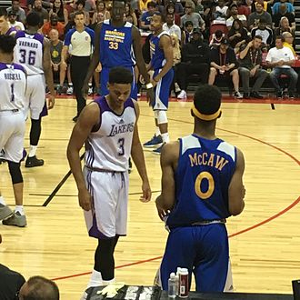 Patrick McCaw - McCaw during the 2016 NBA Summer League