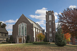 University of Tennessee at Chattanooga - Patten Chapel