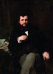 Portrait d'Ernest Hoschedé