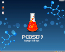 Screenshot of PC-BSD 9
