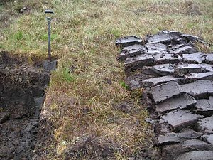 Peat - Peat in Lewis, Scotland