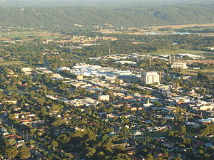 Penrith, New South Wales - Penrith's central business district and commercial area