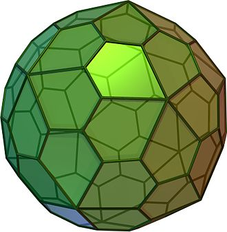 Solids with icosahedral symmetry - Pentagonal hexecontahedron (Ccw)