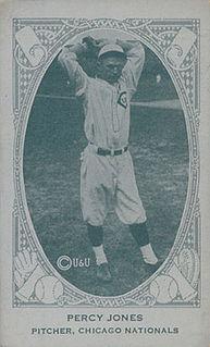 Percy Jones (baseball) American baseball player