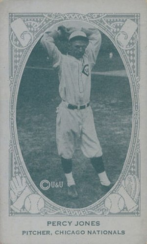 Percy Jones (baseball) - Image: Percy Jones 1922