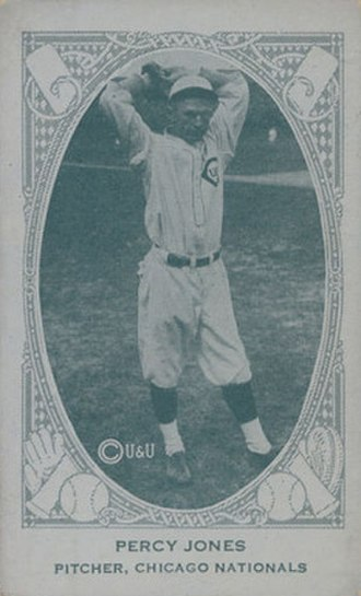 Percy Jones (baseball) - Image: Percy Jones 1922
