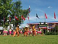 Performance at the 2017 Philippine Independence Day Celebration in Minalabac, Camarines Sur.jpg