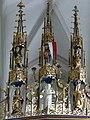 Pesenbach St.Leonhard - Hochaltar Gesprenge 1.jpg