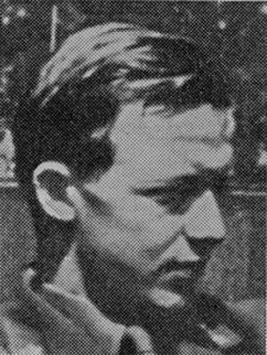 Peter Deinboll - Head shot from Våre falne 1939-1945.