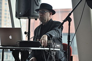 Peter Gordon (composer) - Gordon performing at the 2012 Pop Conference at NYU