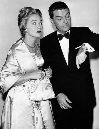Mary Healy (entertainer) - Healy and husband Peter Lind Hayes hosting The Tonight Show in 1962