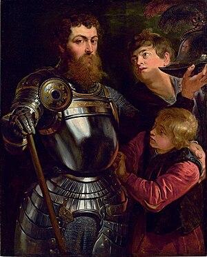 Portrait of a Commander - Peter Paul Rubens (1577–1640), Portrait of a Commander