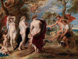 The Judgement of Paris (Rubens) - Image: Peter Paul Rubens The Judgment of Paris (1630s)