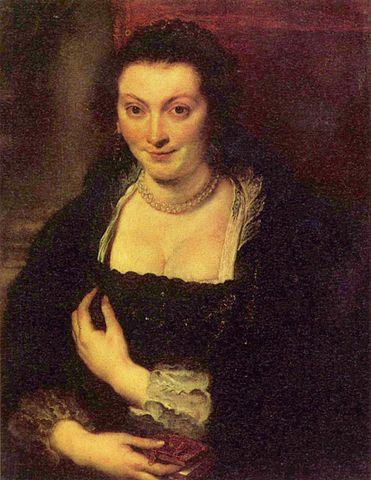 Портрет Изабеллы Брант. Около 1624 года, холст, масло. 86 × 62 см. Флоренция, Галерея Уффици