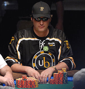 Phil Hellmuth - Hellmuth at the 2008 World Series of Poker
