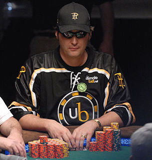 Phil Hellmuth American poker player