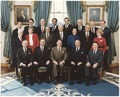 Photograph of 1984 Cabinet - Class Photo - NARA - 198545.tif
