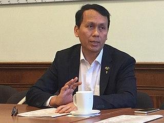 Phyo Min Thein Burmese politician