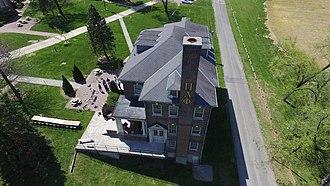 Pi Lambda Phi - The Pi Lambda Phi house at Roanoke College's Virginia Lambda Kappa Chapter.