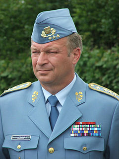 Czech general and politician, former Minister of Defence of the Czech Republic