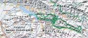 Mapa Pienin