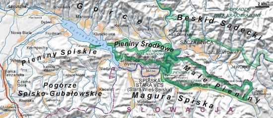 杜纳耶茨河成为波兰和斯洛伐克的边界