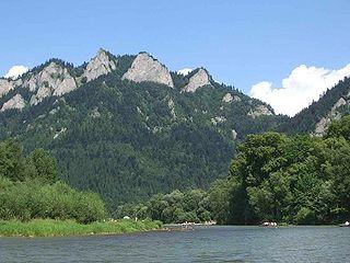 Trzy Korony Mountain in Poland