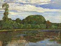 Piet Mondriaan - Geinrust farm with isolated tree at left - A450 - Piet Mondrian, catalogue raisonné.jpg