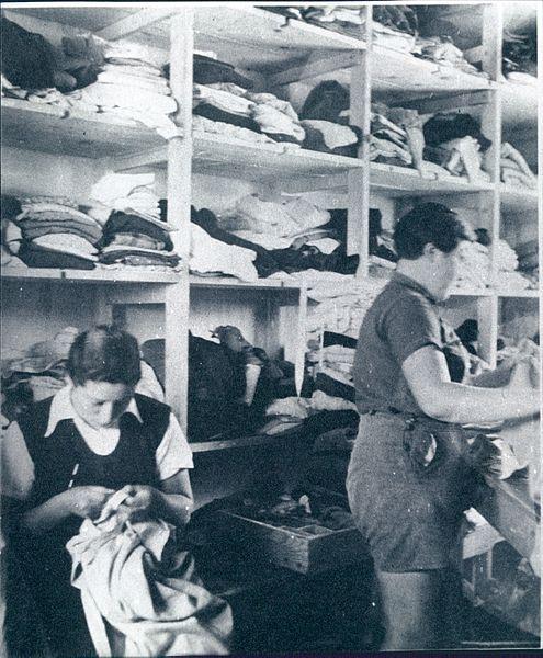 מחסן הבגדים של קיבוץ רודגס
