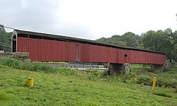 Pine Grove Covered Bridge (1884)National Register of Historic Places