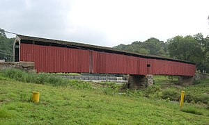 Pine Grove Covered Bridge Wide Side View 3000px.jpg