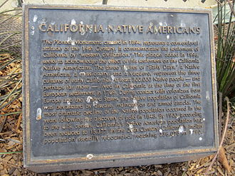 Pioneer Monument (San Francisco) - Plaque added in 1994