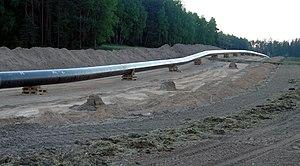 Pipeline im Bau