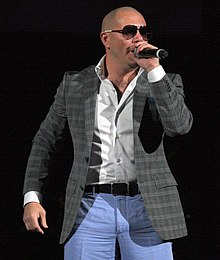 Pitbull the rapper in performance (2011).jpg
