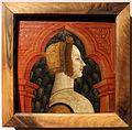 Pittore cremonese, busti maschili e famminili dal fregio di un soffitto ligneo, 1480-90 ca. 01.JPG