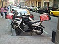 Pizza delivery motorcycles (19034238336).jpg